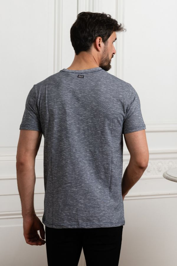 Tee Shirt Homme Petrol Industries TSR609 5147 DARK PETROL