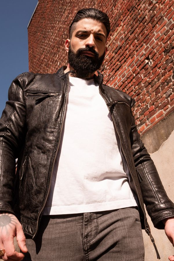 Blouson Homme Cityzen KANSAS BLACK