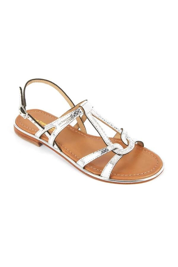 Chaussures Femme Les Tropeziennes Par M Belarbi HACKLE ARGENT