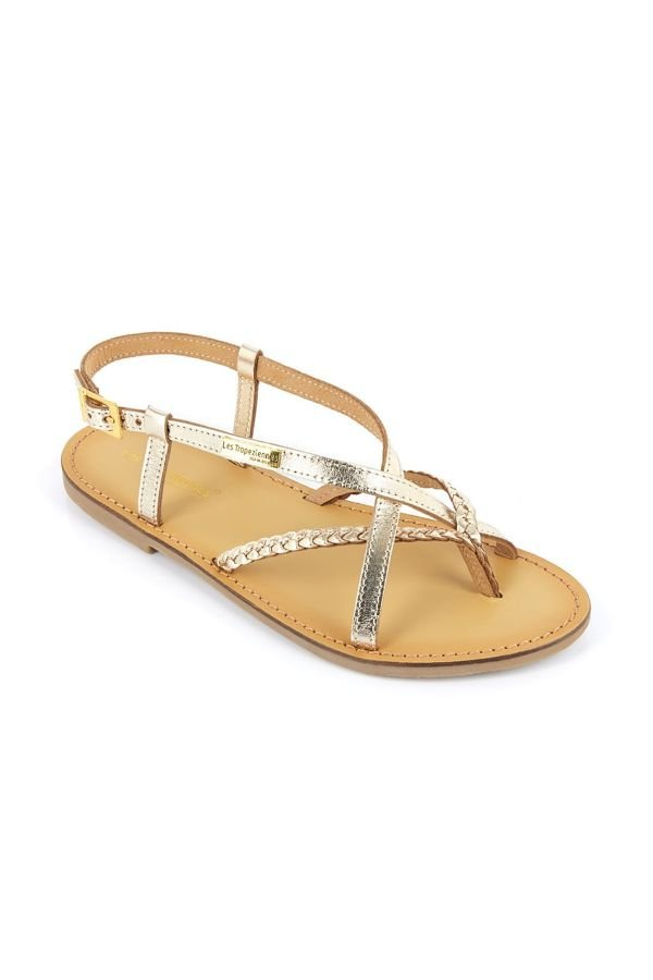 Chaussures Femme Les Tropeziennes Par M Belarbi CHOU OR