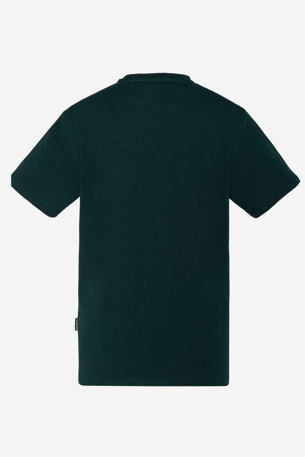 Tee Shirt Homme Schott TSLOGOCASUAL DARK GREEN