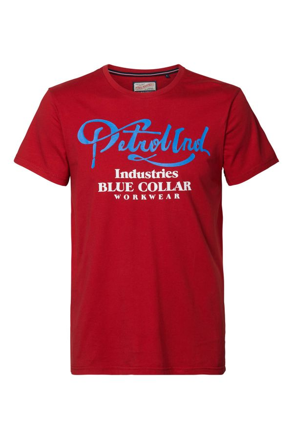 Tee Shirt Homme Petrol Industries TSR600 3061 FIRE RED