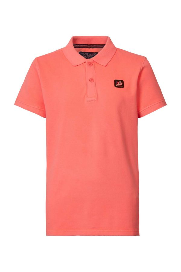 Polo Homme Petrol Industries POL922 3099 FIERY CORAL