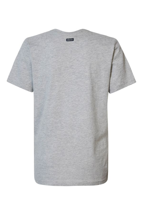 Tee Shirt Homme Petrol Industries TSR603 9038 LIGHT GREY MELEE