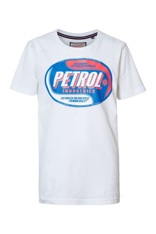 Tee Shirt Homme Petrol Industries TSR601 0000 BRIGHT WHITE
