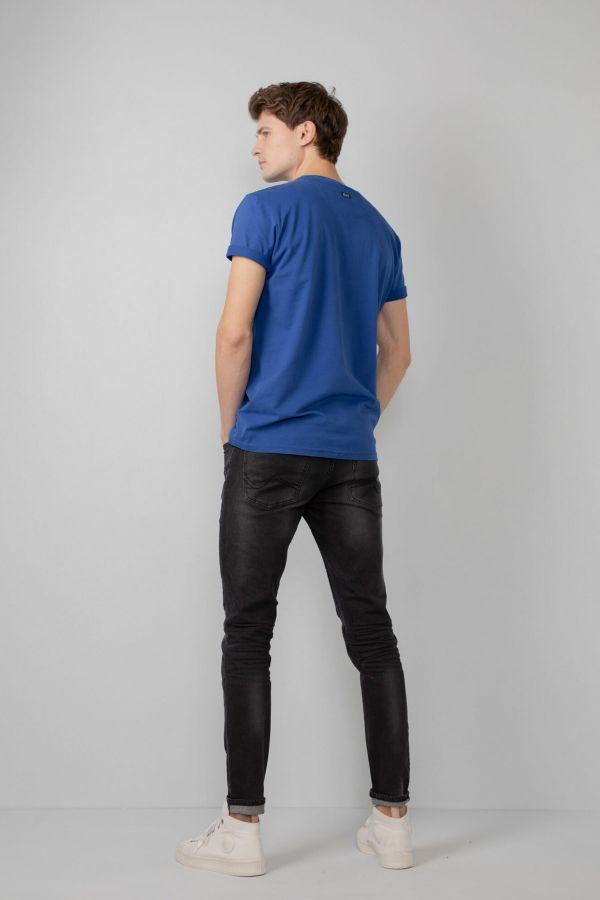 Tee Shirt Homme Petrol Industries TSR601 5093 IMPERIAL BLUE