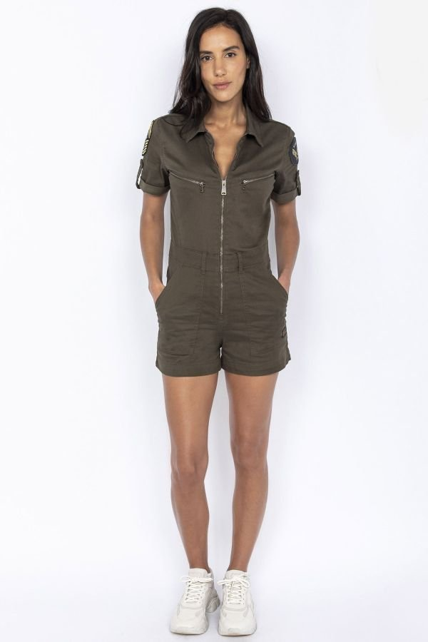 Jupe/robe Femme Schott TRSWIFTW KAKI