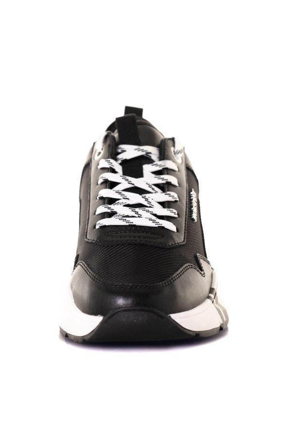 Baskets En Cuir Homme Horspist CONCORDE BLACK HP