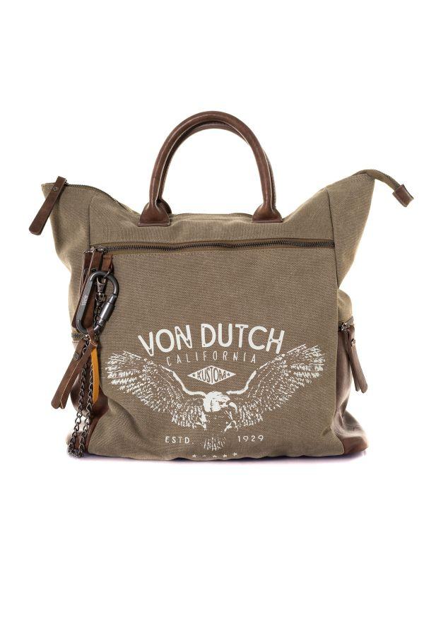 Sacs Homme Von Dutch EAGLE KAKI