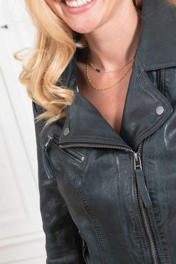 Blouson Femme Oakwood CLIPS 6 PETROLE