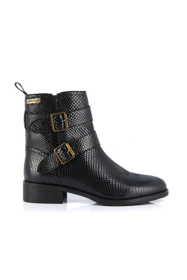 Boots / Bottes Femme Les Tropeziennes Par M Belarbi WILL NOIR SERPENT