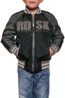 Veste cuir noir redskins