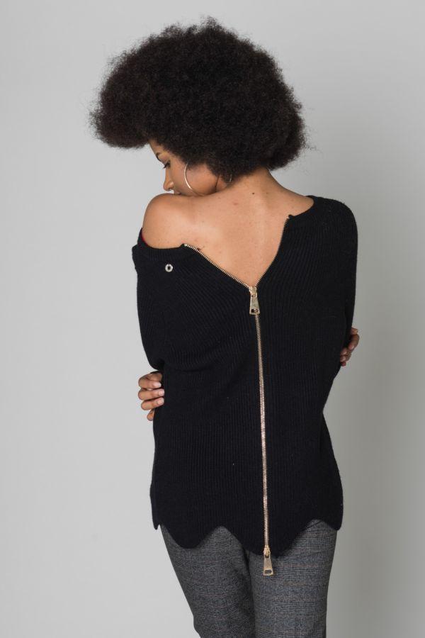Pull/Sweatshirt Femme Diego Reiga CHERRY NOIR