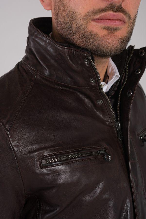 Herren Mantel Daytona CLINTON IC SHEEP TIGER REDDISH BROWN