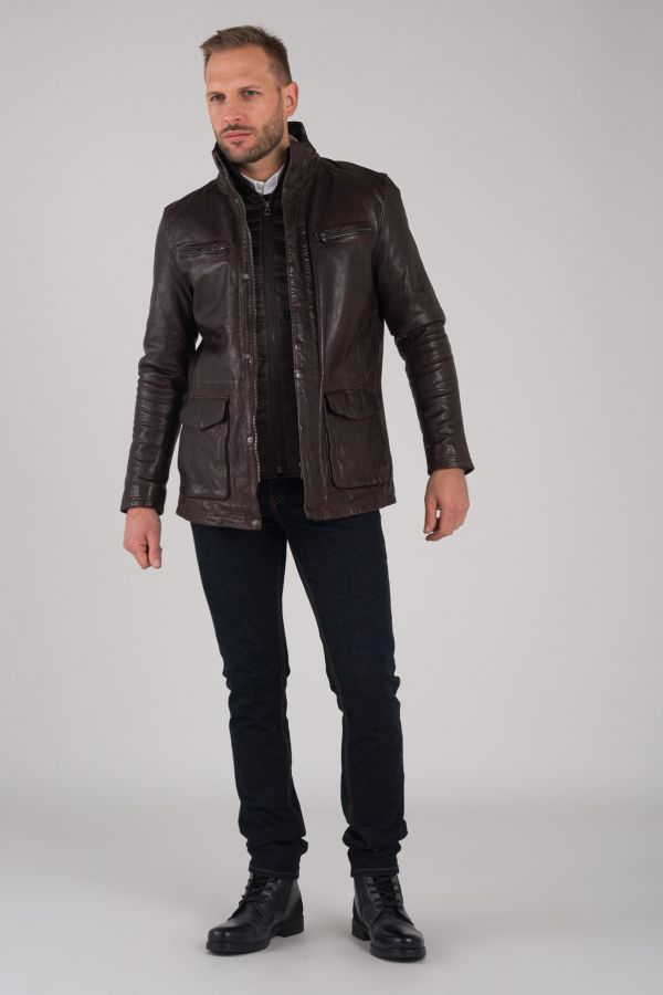 Veste Homme Daytona CLINTON IC SHEEP TIGER REDDISH BROWN