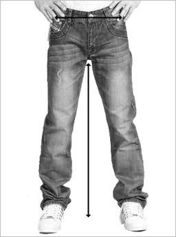 guide de taille pantalon
