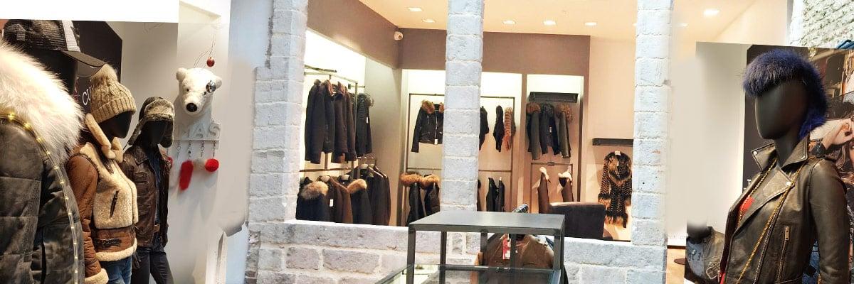 photo d'intérieur de la boutique Cuir-City de Lille Esquermoise
