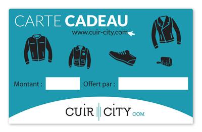 Carte cadeau Cuir-City