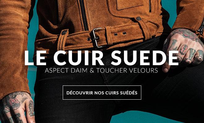 C 292 Blousons Cuir Homme Leather 5B 5D Aspect 20daim 20et 20velours