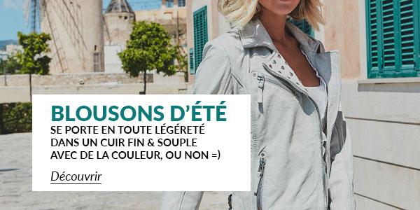 C 293 Blousons Cuir Femme Leather 5B 5D Fin 20et 20l C3 A9ger