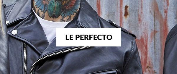 C 350 Blousons Cuir Perfectos Homme