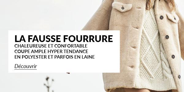 C 586 Fausse Fourrure