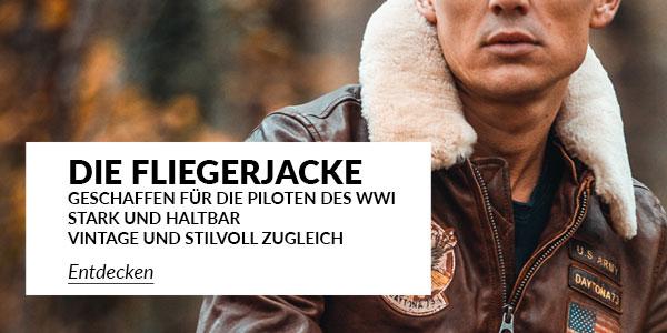 C 495 Herren Lederjacken Fliegerjacke