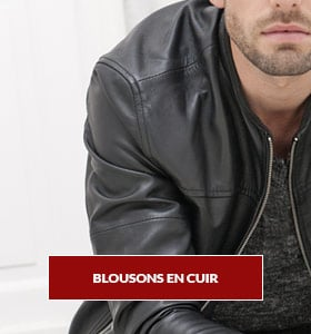 BLOUSON CUIR