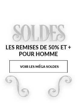 SOLDES Cuir homme