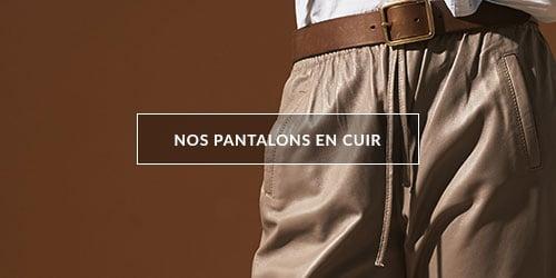 Découvrez nos jupes et robes en cuir