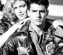 Tom Cruise en blouson aviateur