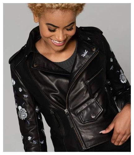 P 11346 Blouson Femme Cityzen Phoenix Black