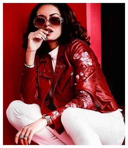 P 11315 Blouson Femme Cityzen Phoenix Red